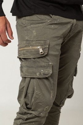 Trousers Umberto Olive