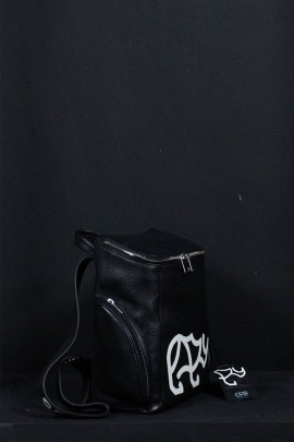 Accessories Black Leather Bag 20