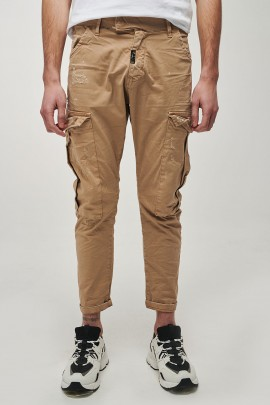 55 Trousers Cavour 1 Chocolate